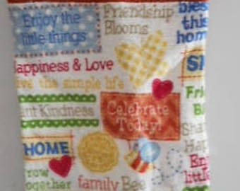 MadieBs Celebrate Family Home and Friends  Plastic Bag Holder Dispenser