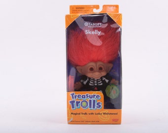 Troll, Doll, Norfin, Russ, Four Inch, Dressed, Costume, Treasure Trolls, In Box, In Package, Skeleton ~ The Pink Room ~ 161002A