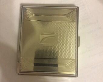 Vintage Art Deco Breslau Cigarette Case Business Credit Card Holder