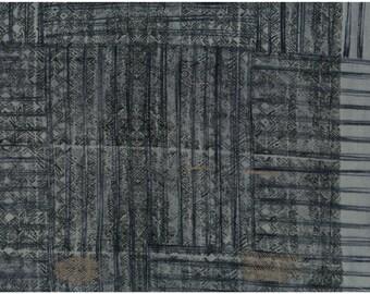 Nani Iro Kokka Japanese Fabric ori-some - aisumi - 50cm