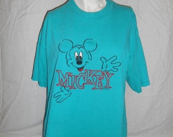 Mickey Mouse Vintage  90's   T-shirt tee   t shirt      unisex mens womens