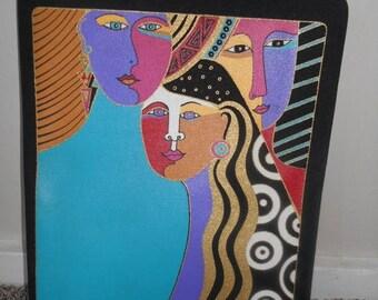 Closing Shop Sale 45% Off Vintage Laurel Burch Women Kind            binder  notebook folder