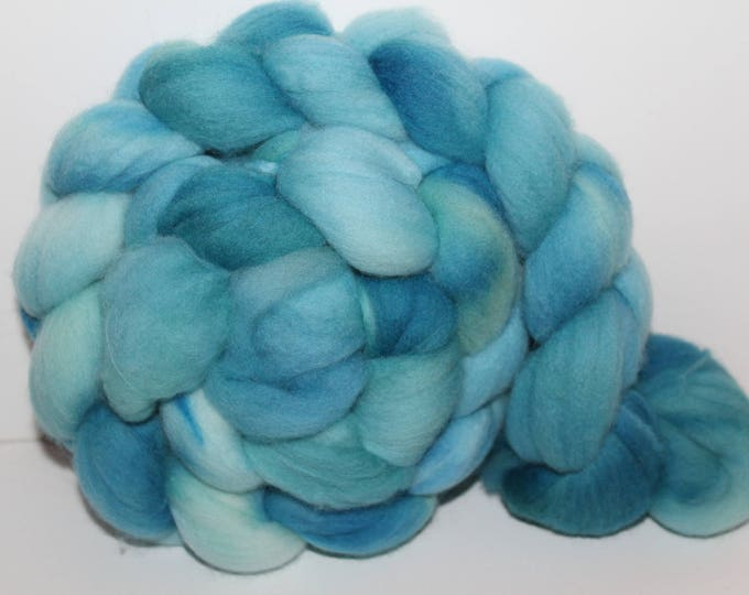 Kettle Dyed Super fine Merino Wool Top.  Soft and easy to spin. 4oz  Braid. Spin. Felt. Roving. M82
