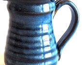 Reserved Item for CW  -Cream Pitcher - Pacifica Blue Glaze