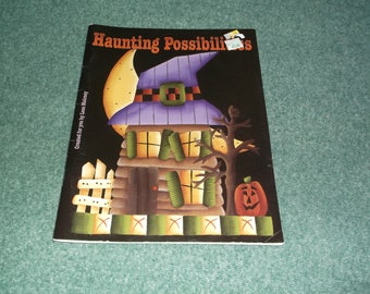 Haunting Possibilities Wood Painting Pattern Book