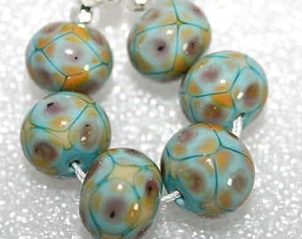 Lampwork  Art Beads by Jeanniesbeads #1487