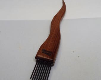 weaving beater, toothpick, tapestry, Brown Ebony,Fine, threadsthrutime