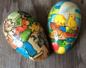 Paper Mache Easter Egg - West Germany