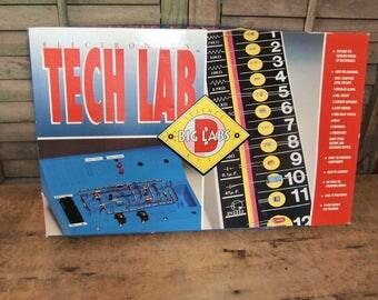 Electronics Tech Lab Big Labs Science Kit like new Educational Fun Padget Bros NRFB