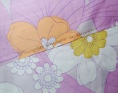 French 70s fabric Triomphe Couture de Boussac Carven Cotton