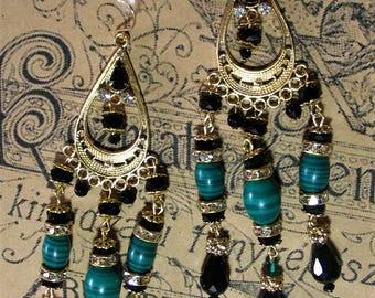 ISOLDE statement earrings