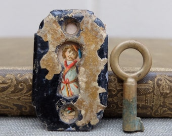 Vintage Keyhole Escutcheon Brass Key Hardware Supply
