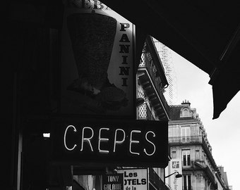 Crepes - Paris Landscape Photography Print