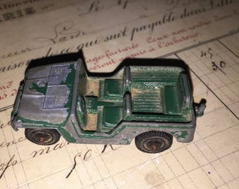 Old Metal Toy Jeep