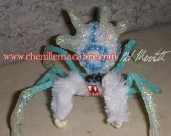 Frost Widow- Chenille Stem Miniature