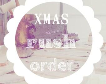 Christmas RUSH processing