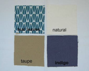 Joy2 Fabric Samples by NikkiDesigns, Hemp, Organic Cotton