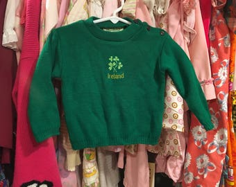 Irish Sweater 2T