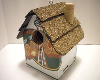 Seattle Sonics License Plate Birdhouse