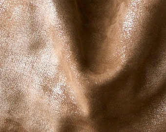 Mink Shimmer nubuck - what can I say..... soft warm tan - choose this leather for selected bags - sample swatch