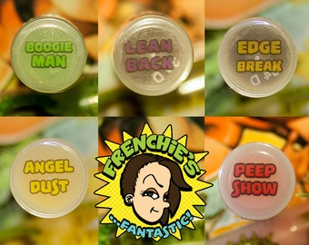 Frenchie's Fantastic Vegan Sweet Almond & Avocado Oil Lip Balm - 5 Flavors!