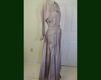 Rare Vintage Tom Brigance 1950's Long Dressing Gown