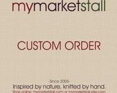 Custom Order for Allison