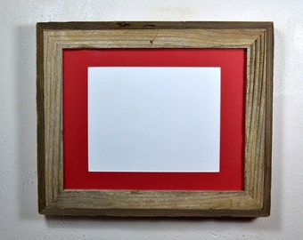 Gallery style 11x14 picture frame with 8x10 redl mat