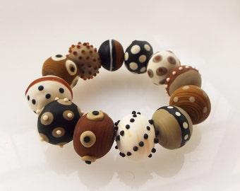 Ethnic bracelet, African bracelet, Glass beads bracelet, Ethnic beads bracelet, African ethnic bracelet, Ethnic statement bracelet