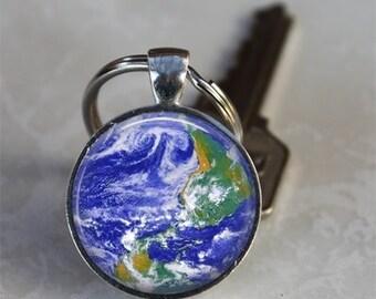 EARTH KEYCHAIN, Planet Earth Keychain