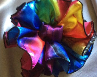 Hybred Rose HairBow,  Clip, or Claw