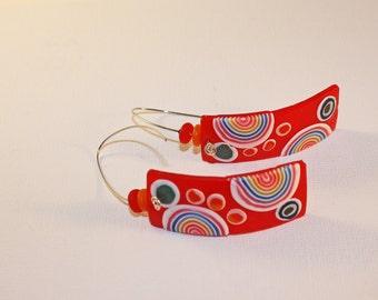 Translucent Polymer Earrings