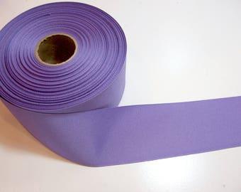 Wide Purple Ribbon, Medium Lavender Purple Grosgrain Ribbon 2 1/4 inches wide x 10 yards
