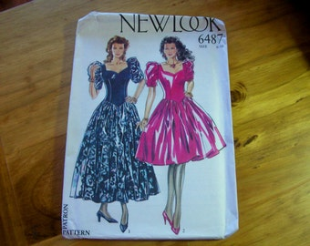 Simplicity New Look 6487 dress sewing pattern