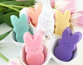 Easter basket stuffers. Easter bunny. Easter Gift basket. Easter bunny. Peep inspired Soaps. SOAP GIFT SET. Easter basket filler. Spring