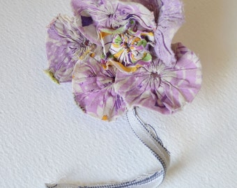SALE>>>Brooch or Pin : ooak large flower Brooch
