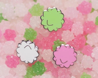 Konpeito Sugar Candy Enamel Lapel Pin Set