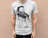 Dark Wizard Pinball Machine Shirt