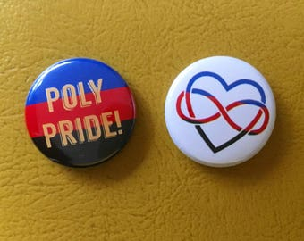 "polyamory set 1"" buttons"