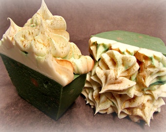 Cider Haus - Handmade Artisan Soap with Rice Bran & Avocado Oils, Gourmet Soap, Soothing Suds Handmade Soap