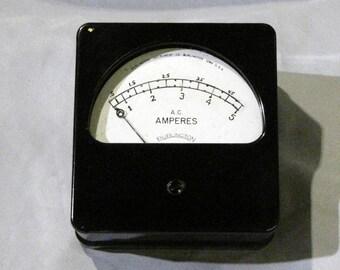 Vintage AC ammeter