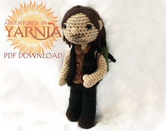 Daryl Dixon Amigurumi Crochet Pattern, PDF Instant Download