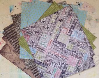 Avignon - 6x6 Paper Pack, 7gypsies