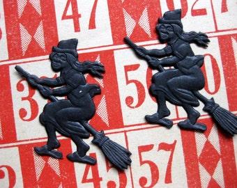 Vintage Orange Lotto, Bingo Cards, Lot of 6, Gorgeous for Halloween Crafts