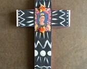 Frida Cross- medium black