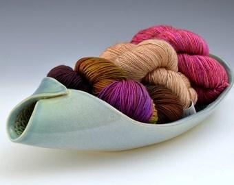One of a kind Platter Big Yarn Bowl