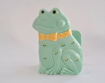 Vintage Otagiri Japan Frog Napkin Holder