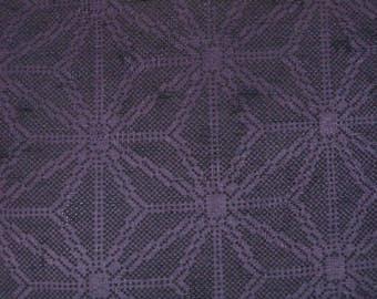 Vintage haori S518, deep purple