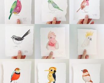 The Instagram Bird Project