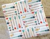 Organic Bamboo Washcloth - Baby Washcloth - Organic Bamboo Washcloth - Bath & Beauty - Facecloth - Arrows Washcloth - Aztec